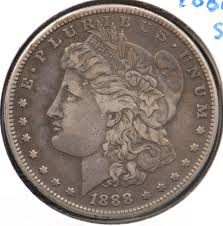 UNITED STATES Silver Coin 1888 MORGAN DOLLAR