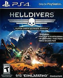 SONY Sony PlayStation 4 Game HELLDIVERS SUPER-EARTH ULTIMATE EDITION - PS4