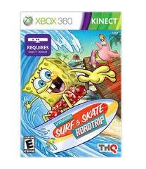 MICROSOFT Microsoft XBOX 360 Game SPONGEBOB'S SURF & SKATE ROADTRIP