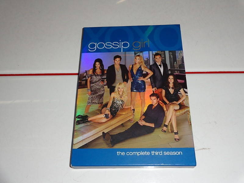 DVD BOX SET DVD GOSSIP GIRL SEASON 3