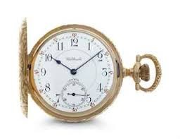 WALTHAM Pocket Watch 14K-WALTHAM