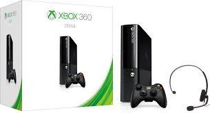 MICROSOFT XBox 360 XBOX 360 E - 250GB - CONSOLE