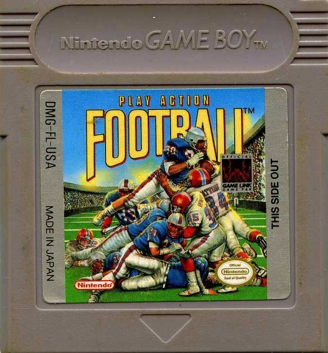 NINTENDO Vintage Game PLAY ACTION FOOTBALL