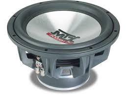 """MTX AUDIO Speakers/Subwoofer 7500 12"""" SUBWOOFER"""