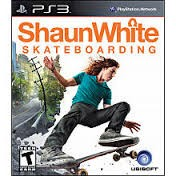 SONY Sony PlayStation 3 SHAUN WHITE SKATEBOARDING