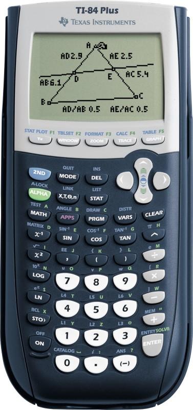 TEXAS INSTRUMENTS Calculator TI-84