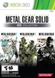 MICROSOFT Microsoft XBOX 360 Game METAL GEAR SOLID HD COLLECTION