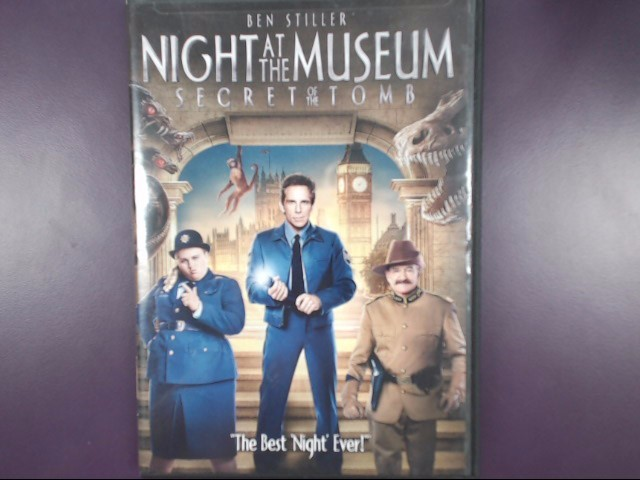 DVD MOVIE NIGHT AT THE MUSEUM SECRET OF THE TOMB