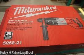 MILWAUKEE Rotary Hammer 5262-21
