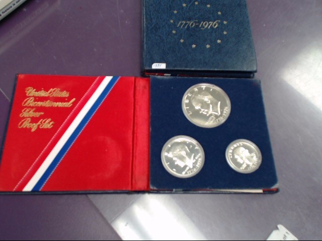 UNITED STATES Proof Set BICENTENNIAL SILVER PROOF SET