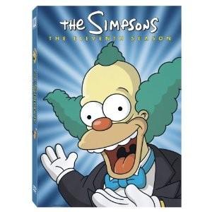 DVD BOX SET DVD THE SIMPSONS ELEVENTH SEASON