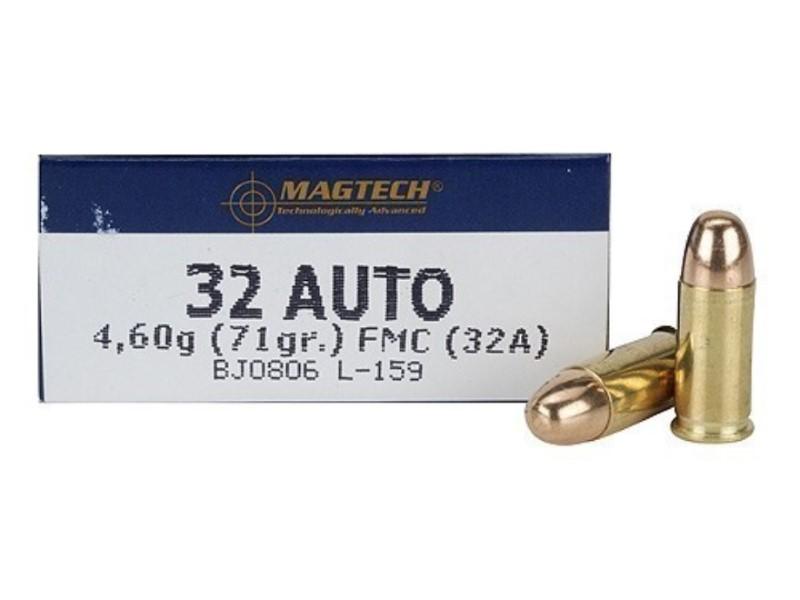 MAGTECH Ammunition 32 AUTO