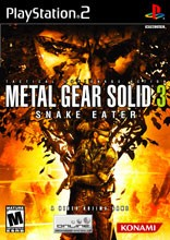 SONY Sony PlayStation 2 Game METAL GEAR SOLID 3 SNAKE EATER