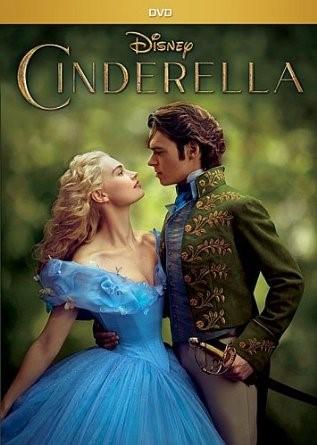 DVD MOVIE DVD CINDERELLA 2015