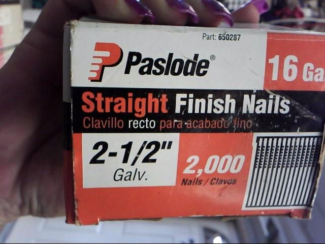 PASLODE Nailer/Stapler 650287