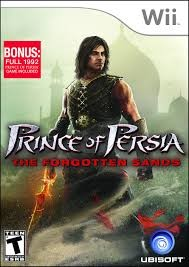 NINTENDO Wii Game PRINCE OF PERSIA THE FORGOTTEN SANDS