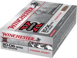 Winchester - 30-06 SPRG - 180 GR. Power Point