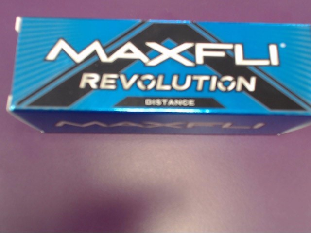 MAXFLI Golf Accessory REVOLUTION DISTANCE GOLF BALLS
