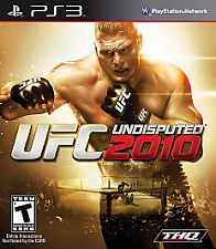 SONY Sony PlayStation 3 UFC UNDISPUTED 2010
