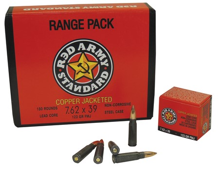 RED ARMY STANDARD Ammunition 7.62X39 MM - 123 GR FMJ (AM1925)