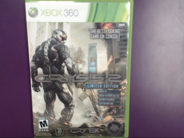 MICROSOFT Microsoft XBOX 360 Game CRYSIS 2 LIMITED EDITION