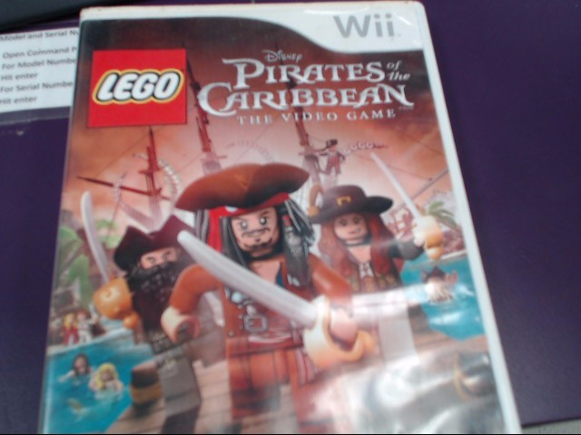 NINTENDO Nintendo Wii Game LEGO PIRATES OF THE CARIBBEAN