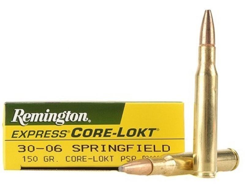 REMINGTON Ammunition CORE-LOKT 30-06 150 PSP