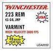 WINCHESTER Ammunition 223 40 RD 45 GR