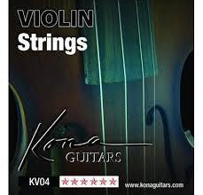 KONA GUITARS Musical Instruments Part/Accessory KV04 VIOLIN STRINGS