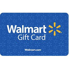WALMART Gift Cards GIFT CARD
