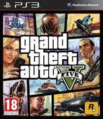 ROCKSTAR Sony PlayStation 3 Game GTA V PS3