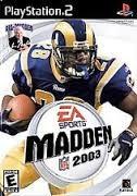 SONY Sony PlayStation 2 MADDEN NFL 2003