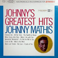 JOHNNY MATHIS Record GREATEST HITS