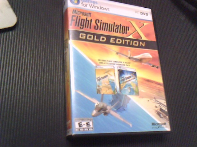 MICROSOFT PC FLIGHT SIMULATOR X
