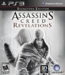 SONY Sony PlayStation 3 Game ASSASSINS CREED REVELATIONS SIGNATURE EDITION