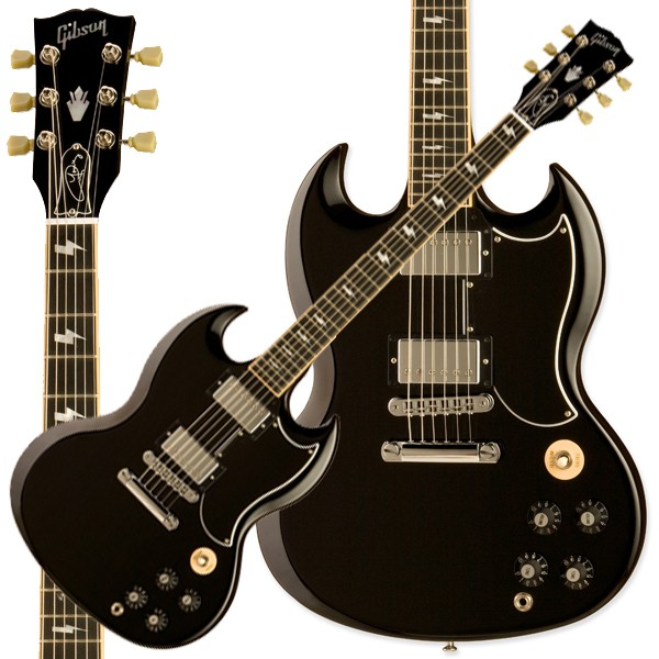 price guide gibson guitar angus young sg ebony electric guitar buya. Black Bedroom Furniture Sets. Home Design Ideas