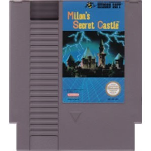 NINTENDO NES MILONS SECRET CASTLE *CARTRIDGE ONLY*