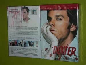 DVD BOX SET DVD DEXTER SEASON ONE