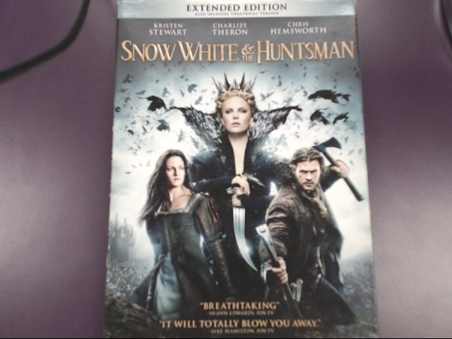 DVD MOVIE DVD SNOW WHITE & THE HUNTSMAN (EXTENDED EDITION)