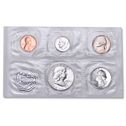 UNITED STATES Proof Set 1960 PROOF SET SMALL DATES