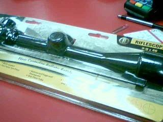 BUSHNELL Firearm Scope BANNER RIFLESCOPE 3-9 X 40