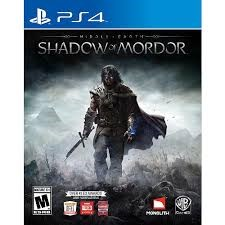 SONY Sony PlayStation 4 Game MIDDLE EARTH SHADOWS OF MORDOR PS4