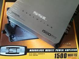 SSL EVOLUTION Car Amplifier EV1500M