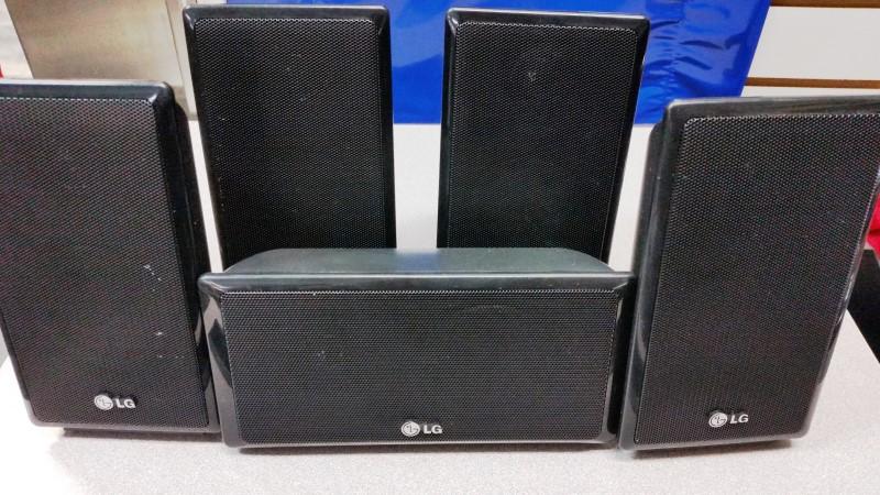 LG Surround Sound Speakers & System SB95SA-F