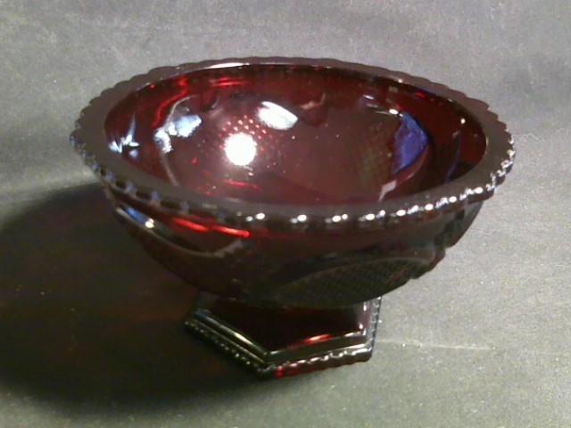 AVON Glassware CAPE COD CANDY DISH