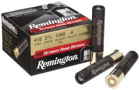 "REMINGTON FIREARMS Ammunition HD ULTIMATE .410 2 1/2"" 000BUCKSHOT"