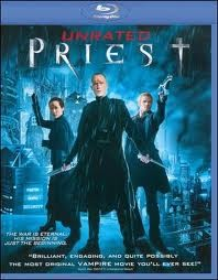 PRIEST BLU-RAY DVD MOVIE