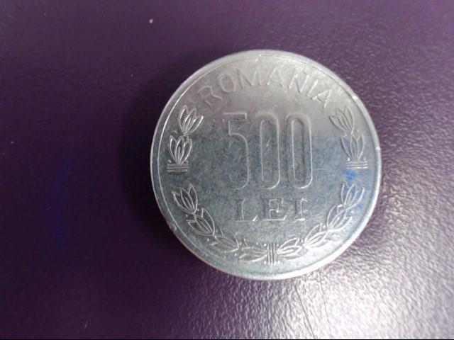 ROMANIA Silver Coin 500 LEI 2000