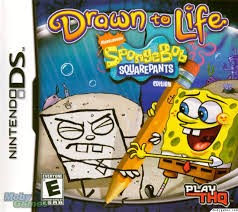 NINTENDO Nintendo DS Game SPONGEBOB SQUAREPANTS DRAWN TO LIFE