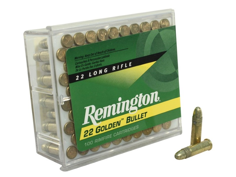 REMINGTON FIREARMS & AMMUNITION Ammunition 22 GOLDEN BULLET 100 COUNT